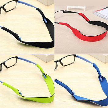 Neck Cord Sports Eyeglasses String Sunglasses Rope Band Holder Glasses StrapHU