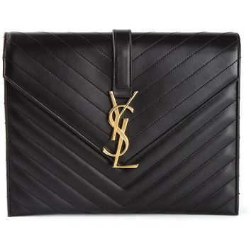 Saint Laurent 'Monogramme' envelope shoulder bag
