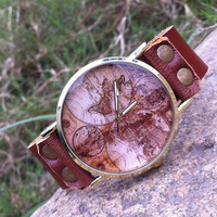 Retro Leather Casual Watch