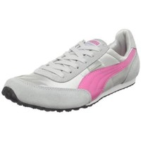 PUMA Women`s Maya NM Fashion Sneaker,Limestone/Pink/Gray,7.5 B US