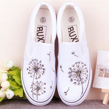 discount hot sales summer Low help canvas shoes women new lazy dancingly shoes pedal foot wrapping female casual board shoes