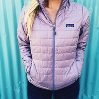 Patagonia Women's Nano Puff Jacket-Rustic Purple