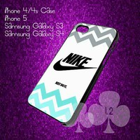 Nike Just Do It Chevron - iPhone 4/4S/5 case black/white case
