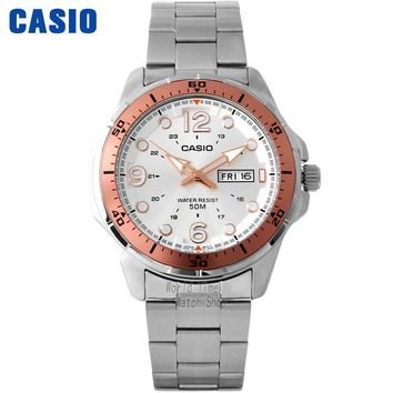 Casio watch Fashion business waterproof quartz male watch MTD-100D-7A1
