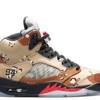 "AIR JORDAN 5 RETRO SUPREME ""SUPREME"" CAMO"