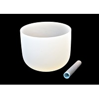 Quartz Crystal Singing Bowl 8""