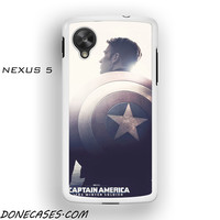 Captain America the Winter Soldier for phone case Nexus 4/5