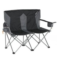Kelty Loveseat Chair, Black