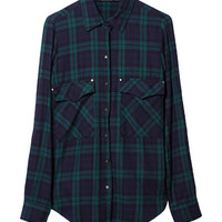 CHECKED SHIRT - Shirts - Woman - ZARA United States