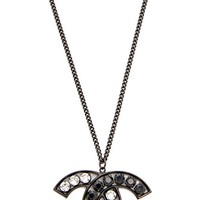 Chanel Crystal CC Necklace (Previously Owned)