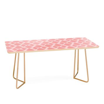 Allyson Johnson Blushed iKat Coffee Table