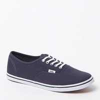Canvas Sneakers - Womens Shoes - Blue
