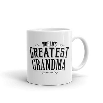 World's Greatest Grandma Coffee Mug, new grandparent mug, grandma coffee mug, grandma mug, grandma gift, gift for grandma coffee cup