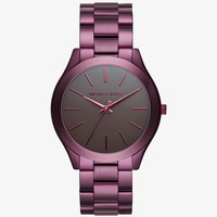Slim Runway Plum-tone Watch | Michael Kors