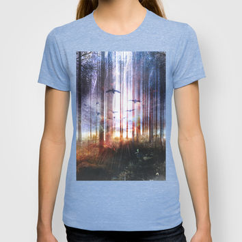 Absinthe forest T-shirt by HappyMelvin