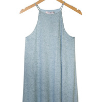 Ardith Knit Halter Dress-FINAL SALE