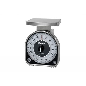 San Jamar SCMDL2 2# x 1/4 Oz Mechanical Dial Scale