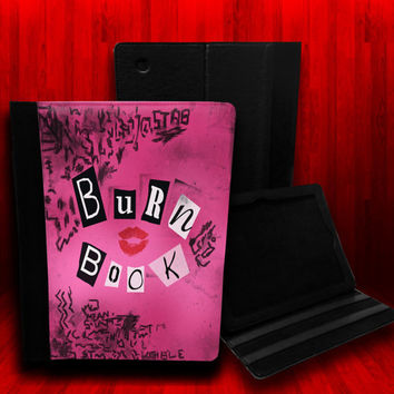Mean Girls Burn Book Leather Case For iPad 2 iPad by CustomizeMeAz