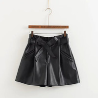 Winter Stylish Butterfly Casual Pants Boot Cut Shorts [4917795652]