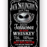 Jack Skellington Blood Whiskey for iPhone 4/4S Case **