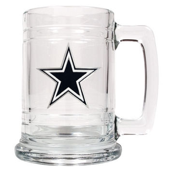 Personalized NFL Beer Mug - Dallas Cowboys