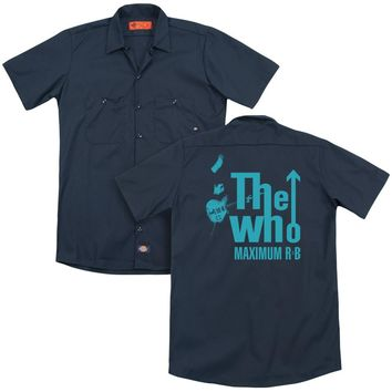 The Who - Maximum R&B (Back Print) Adult Work Shirt