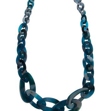 Monies chain link necklace