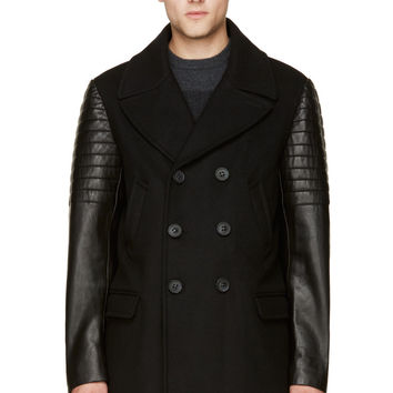 Mackage Black Wool Winter Clyde Jacket