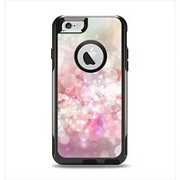 The Unfocused Pink Abstract Lights Apple iPhone 6 Otterbox Commuter Case Skin Set