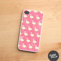 iPhone 5 Case Flamingo Pattern Pink iPhone 5S Case, iPhone 4/4S Case, iPhone 5C Case