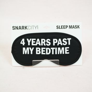 Sleep Mask - 4 Years
