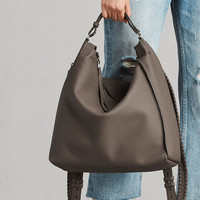 ALLSAINTS CA: Womens Kita Backpack (mink_grey)