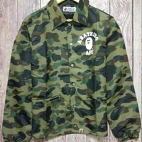 Men's Fashion Camouflage Couple Windbreaker [10182864647]