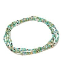 Me To We Good Luck Rafiki Friend Chain - Womens Jewelry - Green - NOSZ