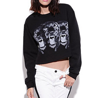 Civil Tri Head Cropped Crew Fleece at PacSun.com