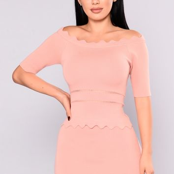 Miss Behave Top - Pink