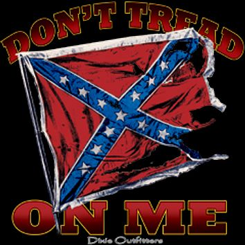 Don't Tread on Me Confederate T-Shirt By Dixie Outfitters®