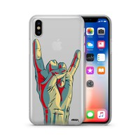 Rock On - Clear TPU Case Cover