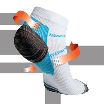 ping Foot Compression Breathable Hosiery Socks For Plantar Fasciitis Heel Spurs Pain Sock For Men And Women