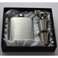 Hot sale portable stainless steel hip metal flask sets gift travel whiskey alcohol liquor bottle flagon Male Small Mini Bottles -in Hip Flasks from Home, Kitchen & Garden on Aliexpress.com | Alibaba Group