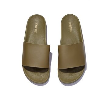 Minimal Slides (Men's) - Army Green