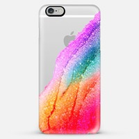 FLAWLESS RAINBOW Faux Glitter by Monika Strigel iPhone 5 Plus iPhone 6 Plus case by Monika Strigel | Casetify