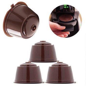 Coffee Capsule Cup Pod 1 pcs Reusable Coffee Filter Holder Use 150 times Perfect Gift for Coffee Lovers For Nescafe Dolce Gusto