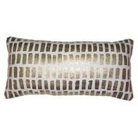 Lumbar Pillow - Gold/White - Threshold™