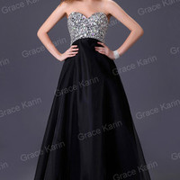 Formal Wedding Bridesmaid Cocktail Evening Prom Bridal Ball Gown Dress Size 6-20