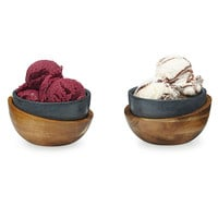 Hot and Cold Soapstone Bowls - Set of 2 | hot and cold bowl