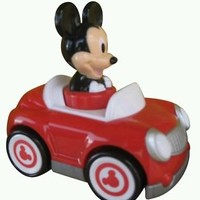 Disneys Mickey Mouse Mouse Push and Go Racer Car New in package