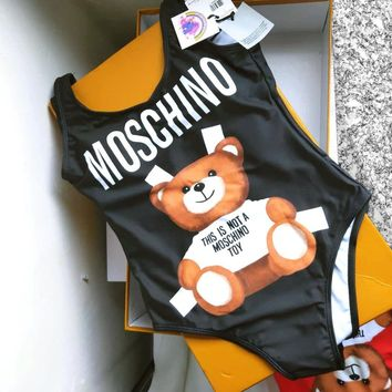 Moschino One Piece Bikini Swimsuit