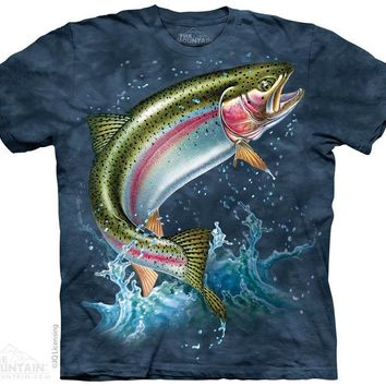 New RAINBOW TROUT T SHIRT