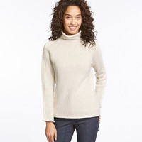 Women's Cottage Cotton Sweater, Funnelneck Pullover | Free Shipping at L.L.Bean.